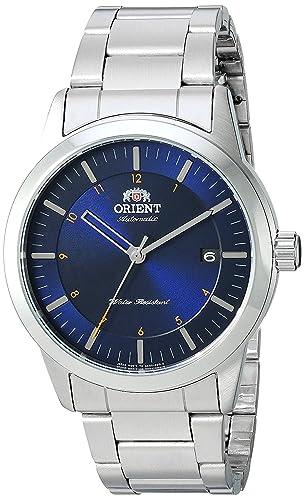 Orient Reloj Analógico para Hombre de Automático con Correa en Acero Inoxidable FAC05002D0: Amazon.es: Relojes