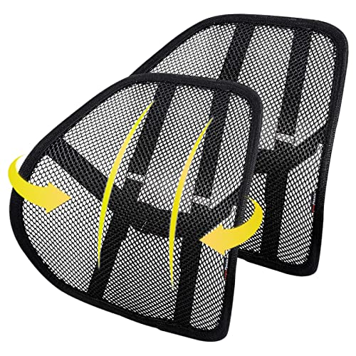 Lumbar Support 2Pack with Breathable Mesh for Cars