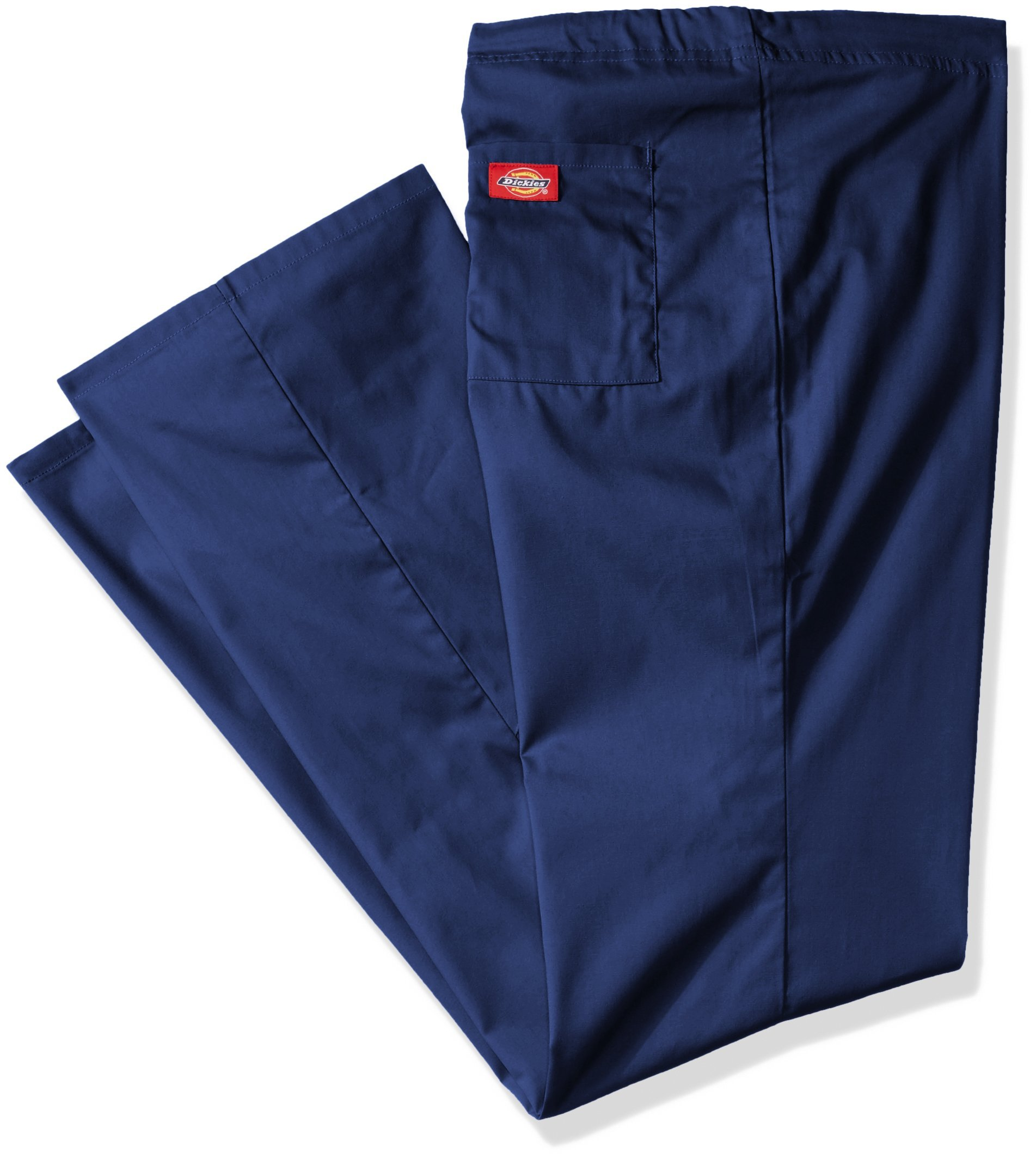 Dickies Men's Big EDS Signature Unisex Drawstring Scrub Pant, Navy, Medium/Tall
