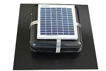 Solar roof Vent - Ventilador de ático Solar - Solar rvoblaster con ...