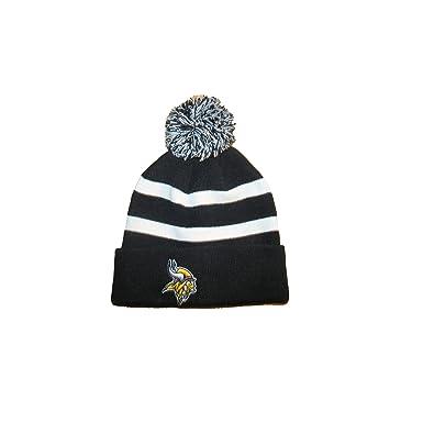 a3dc3140 Amazon.com: Minnesota Vikings NFL Football Knit Stocking Hat with ...