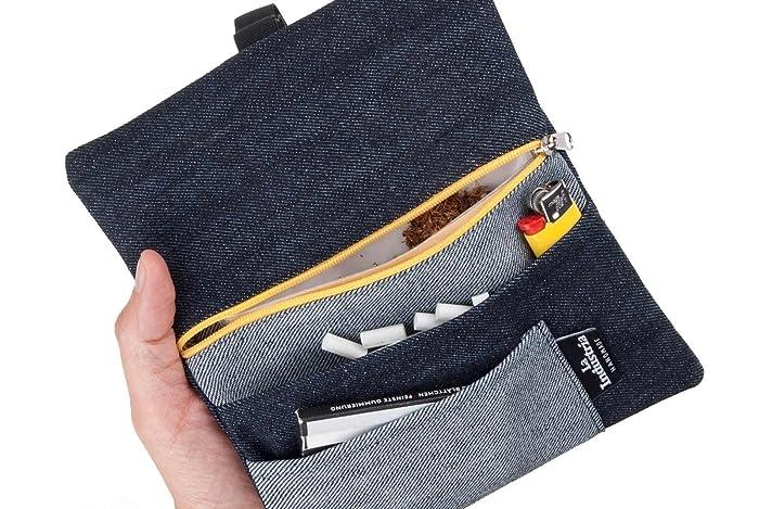 Ufficio Fai Da Te Jeans : Astuccio borsello portatabacco jeans porta tabacco black denim
