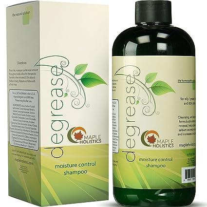 Champú para cabello graso – Tratamiento botánico de pérdida de cabello para hombres y mujeres –