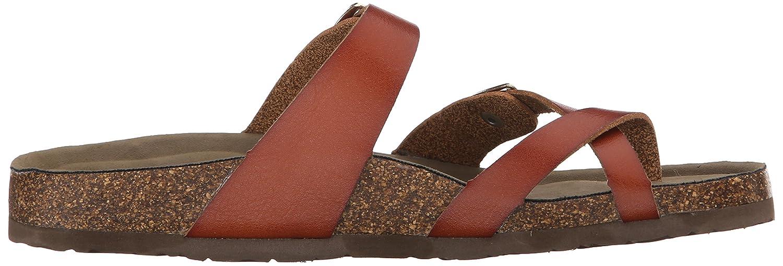Madden Girl Women's Bryceee Toe Ring Sandal B01715VIKW 7.5 B(M) US|Cognac Paris