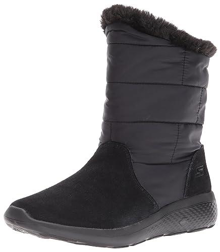 Skechers Damen Alaska Stiefel, Schwarz (Black), 41 EU