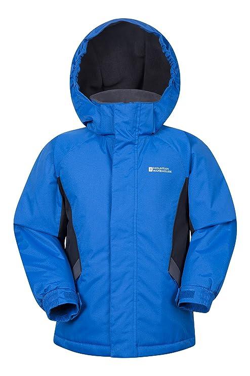 768f153fd3d8 Mountain Warehouse Raptor Kids Snow Jacket - Winter Ski Coat  Amazon ...