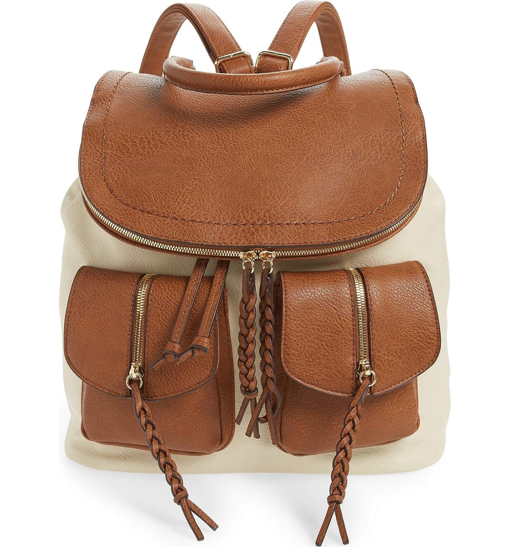 [ソロソサエティ] レディース バックパックリュックサック Sole Society Emery Faux Leather Backpack [並行輸入品] One-Size  B07P64NQZP