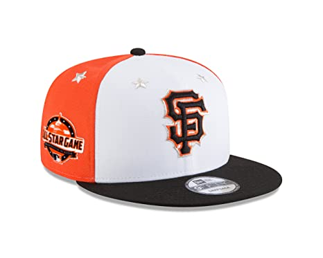 c0caeb13d36 Image Unavailable. Image not available for. Color  New Era San Francisco  Giants 2018 MLB All-Star Game 9FIFTY Snapback Adjustable Hat –