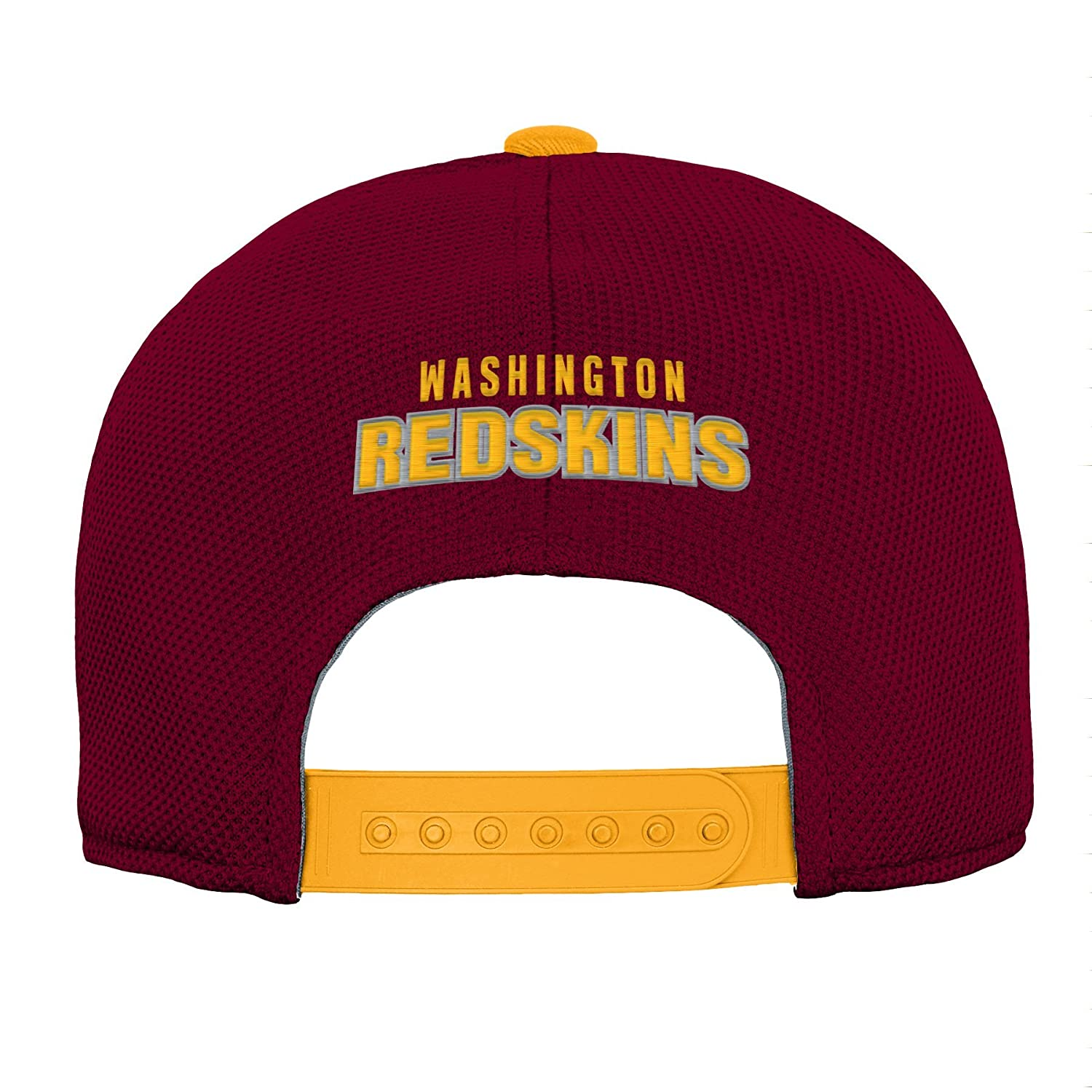 Youth One Size Burgundy NFL Washington Redskins Youth Outerstuff Velocity Structured Snap Hat