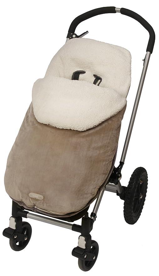 JJ Cole JBMOTK - Saco de abrigo universal Bundleme para cochecito, color caqui
