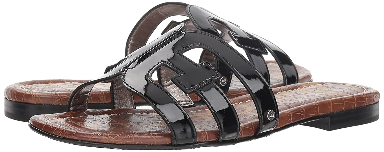 Sam Edelman Women's Bay M Slide Sandal B07D3NTPKY 8 M Bay US|Black Patent 81ec95
