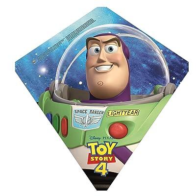 "EZBreezy Kites Toy Story 4 Buzz Lightyear 22"" Poly Diamond Kite: Toys & Games"