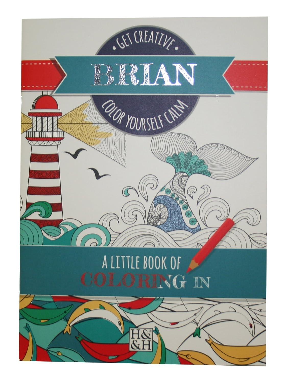 Coloring Books Brian Drawing Book John Hinde Gifts 203000092