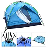 Instant Tent - Be Ready To Camp In Under 1 Minute! No Pre-Assemble Required! Waterproof, Removable Rain Fly, Spacious 2 Man Interior Cabin