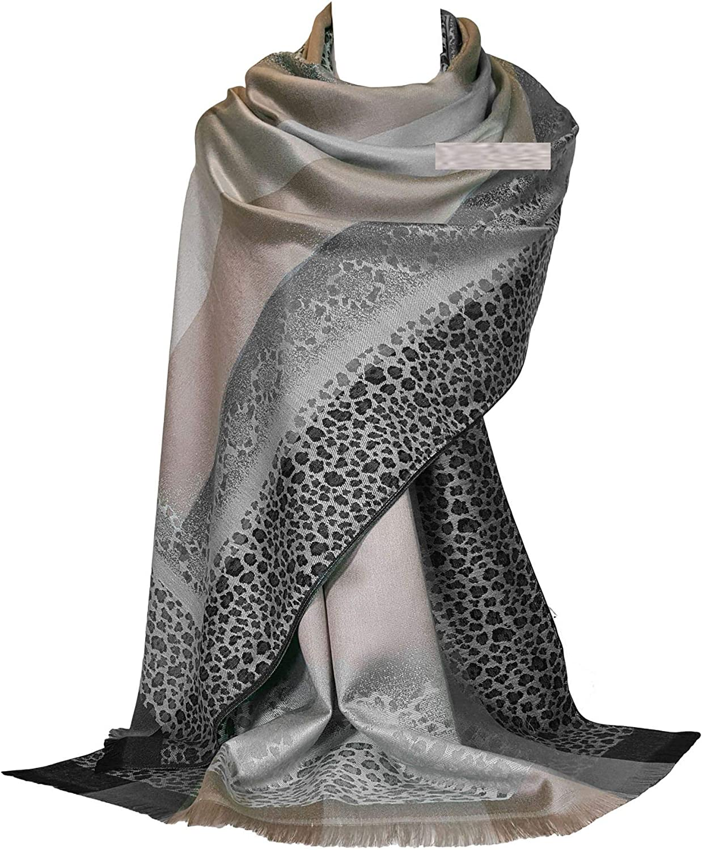 FRL1 GFM Mosaik Blumen Design Pashmina Stil Schal