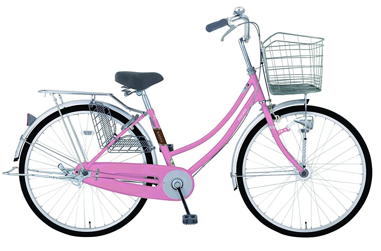 marukin(マルキン) 完全組立 26インチ自転車 LEDオートライト シマノ製内装3段ギア レイニーホーム ピンク MK-18-011 ピンク   B078KKNTMJ
