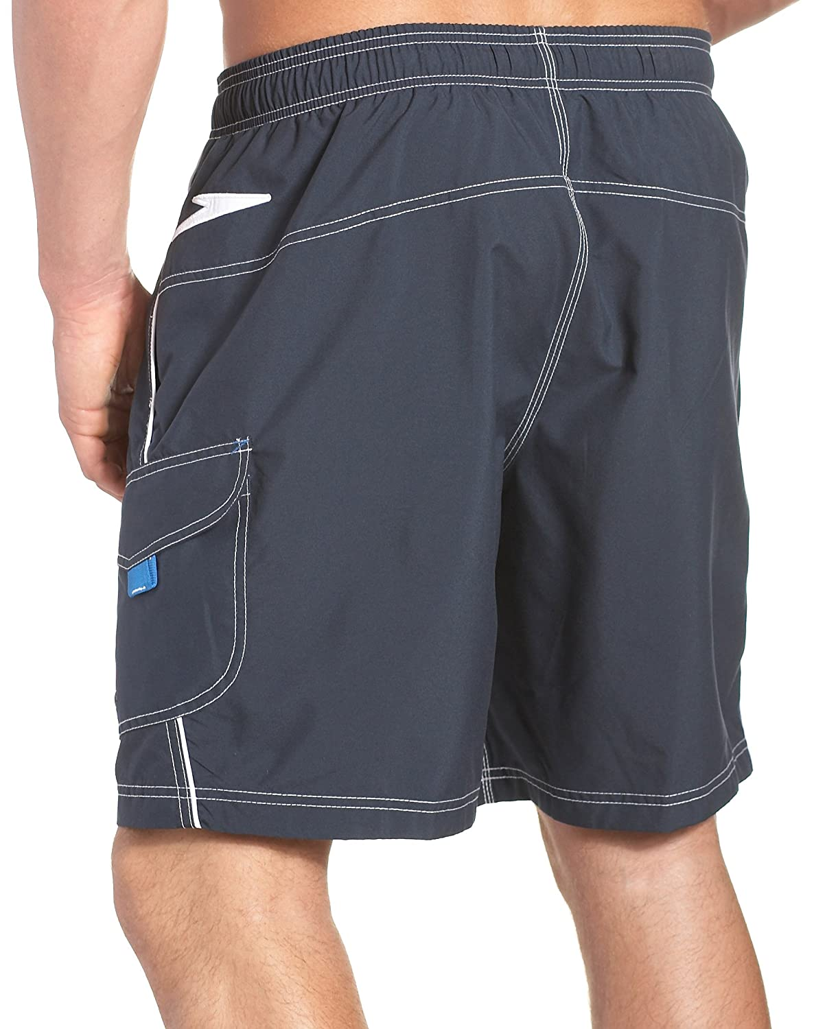 7ad7676166 Amazon.com : Speedo Men's Lifeguard Solid Volley 20 Inch Watershorts :  Fashion Swim Trunks : Clothing