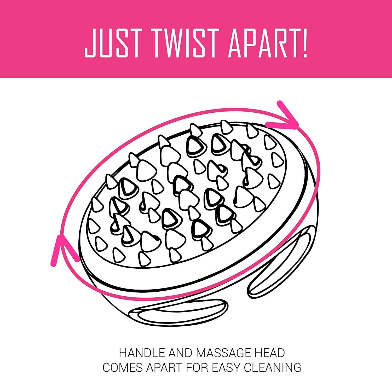 amazon scala cellulite massager and remover brush mitt bath Beautytrends 1970 S amazon scala cellulite massager and remover brush mitt bath mitts and cloths beauty