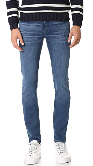 e20d4b31 3x1 Men's M5 Skinny Jeans, Teras, 34 at Amazon Men's Clothing store: