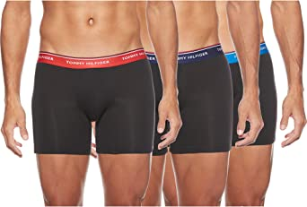 Calvin Klein 3p Boxer Brief, Multicolor (Blue Shadow/Black/Cobalt Water), Medium (Pack de 3) para Hombre