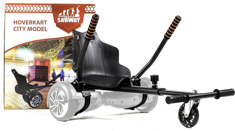 COLORWAY HoverKart pour Hoverboard Kart Si/ège pour Gyropode Scooter /Électrique 10 Scooters 8.5 Ajustable Compatible avec Scooter 6.5
