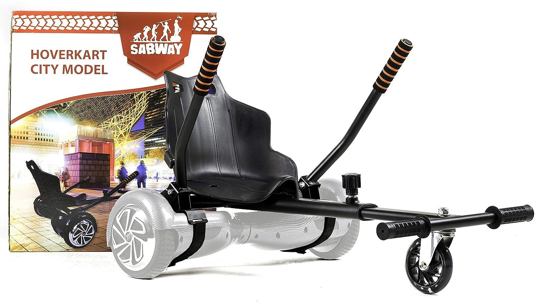SABWAY® Hoverkart Hoverboard - Apto para Niños y Adultos ...
