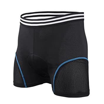 Honey Bee Pantalones Cortos de Ciclismo Ropa Interior de Hombres para Bicicleta Pantalones de Montar a