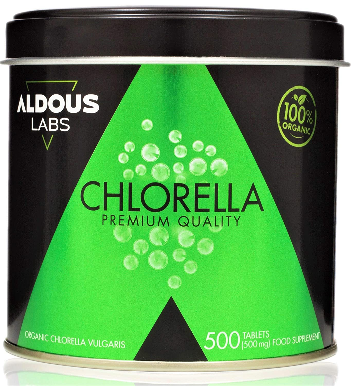Chlorella Ecológica Premium para 165 días - 500 comprimidos