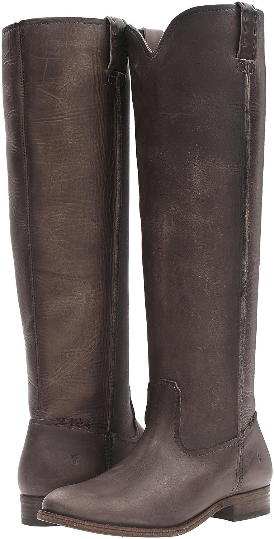 FRYE Women's Cara Tall Leather Slouch Boot B01AA8KLV4 9.5 B(M) US|Smoke