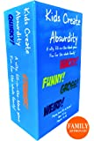Family Games Kids Create Absurdity-A Silly Fun Family Card Game-A Fill In The Blank Card Game For Kids, Families, Partys, Adults- Huge Pack of 465 Quality Playing Cards.