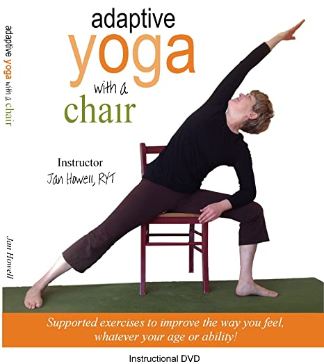 Adaptive Yoga with a Chair DVD: Amazon.es: Cine y Series TV