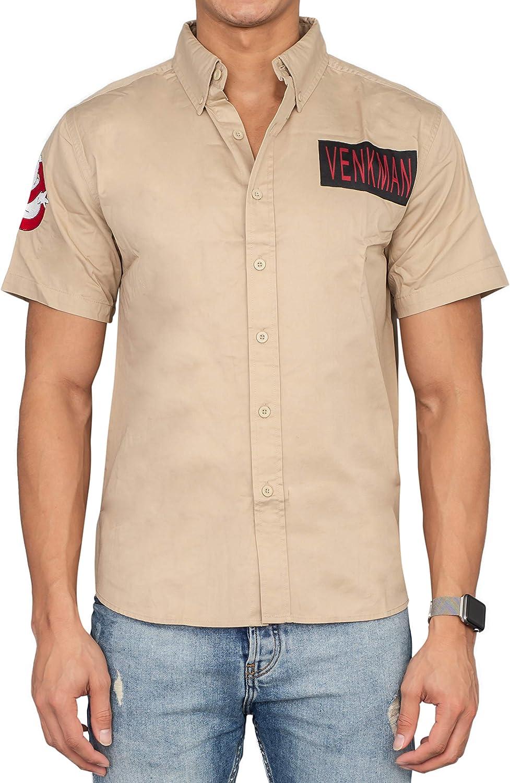 Ghostbusters Venkman Button Up Costume Shirt