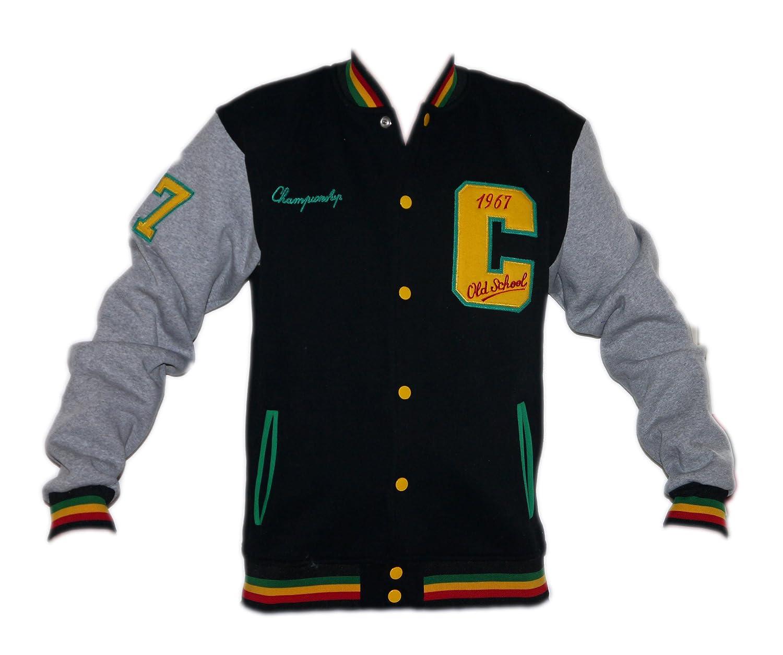 Milano Cabaneli Oldschool College chaqueta sudadera SW-11 ...