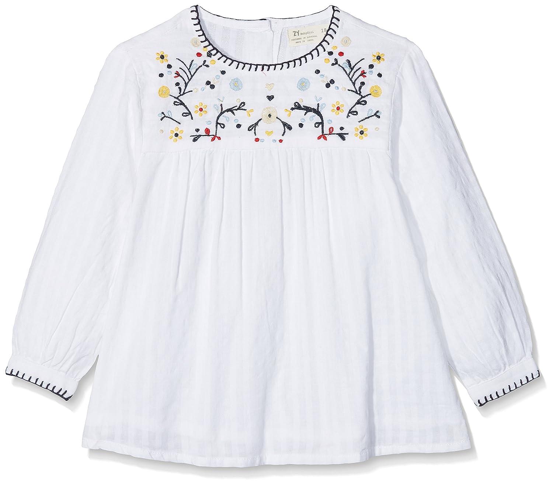 Zippy Baby Girls' Blouse (White 000) 86 cm ZTG14_430_14