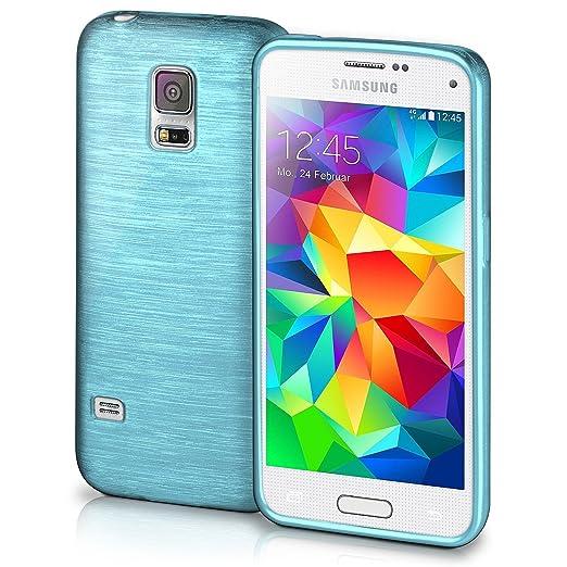 24 opinioni per Cover di protezione Samsung Galaxy S5 Mini Custodia Case silicone sottile 1,5mm