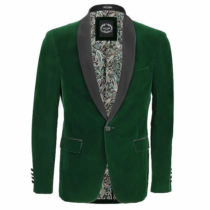 Amazon.com: Xposed para hombre chaleco de traje de Vintage 3 ...