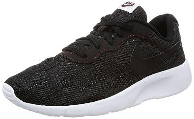 36f580ecdf5 Nike Kids Tanjun SE (GS) Black Black White Team Red