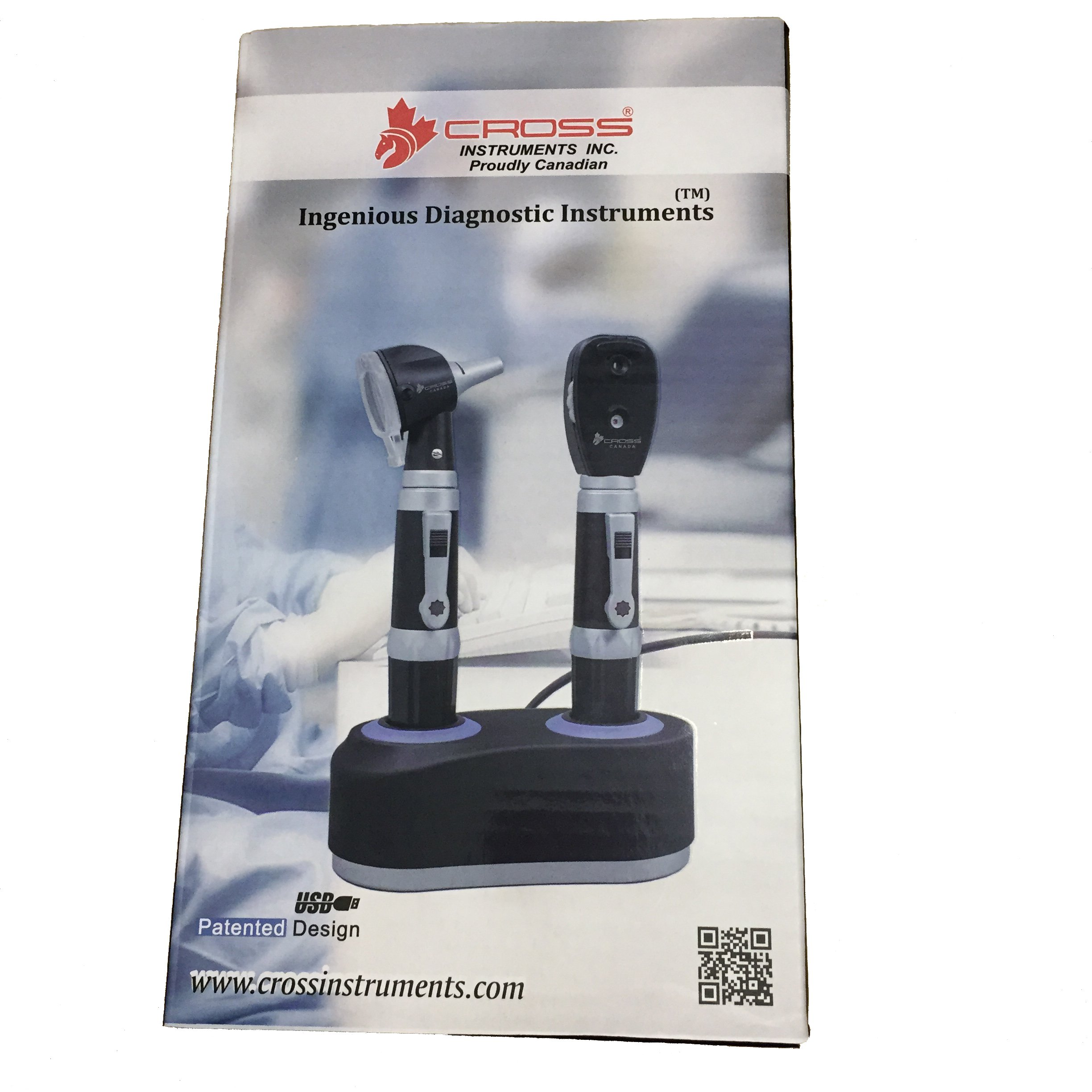 Cross Canada 11-129 Rechargeable Fiber Optic LED Otoscope Diagnostic Set by Cross Canada (Image #4)