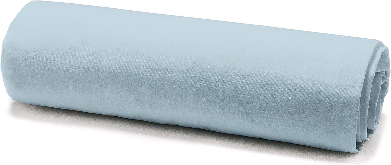 Colore Bianco 140 x 190 cm Today in Jersey di Cotone Lenzuolo con Angoli Elasticizzati