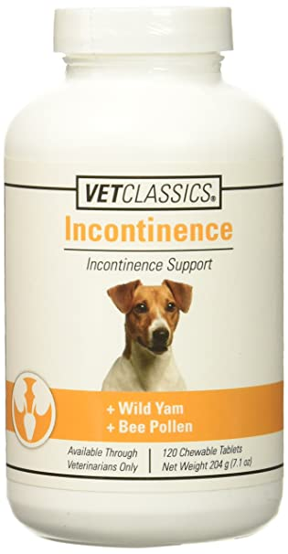 Vet Classics Canine Incontinence - 120 Tablets
