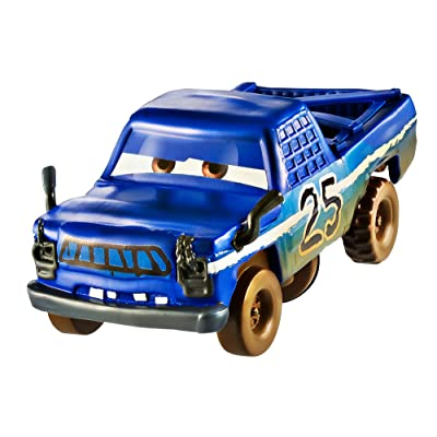 Disney Pixar Cars 3 Crazy 8 Crashers Broadside Vehicle, 1:55 Scale: Toys & Games