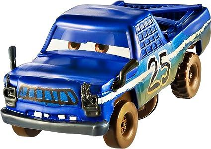 Disney Pixar Cars 3 Crazy 8 Crashers Lightning McQueen Vehicle 1:55 Scale