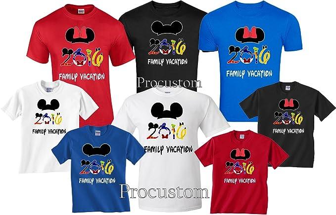 Amazon 2017 2018 Disney Family Vacation Matching T Shirts Clothing