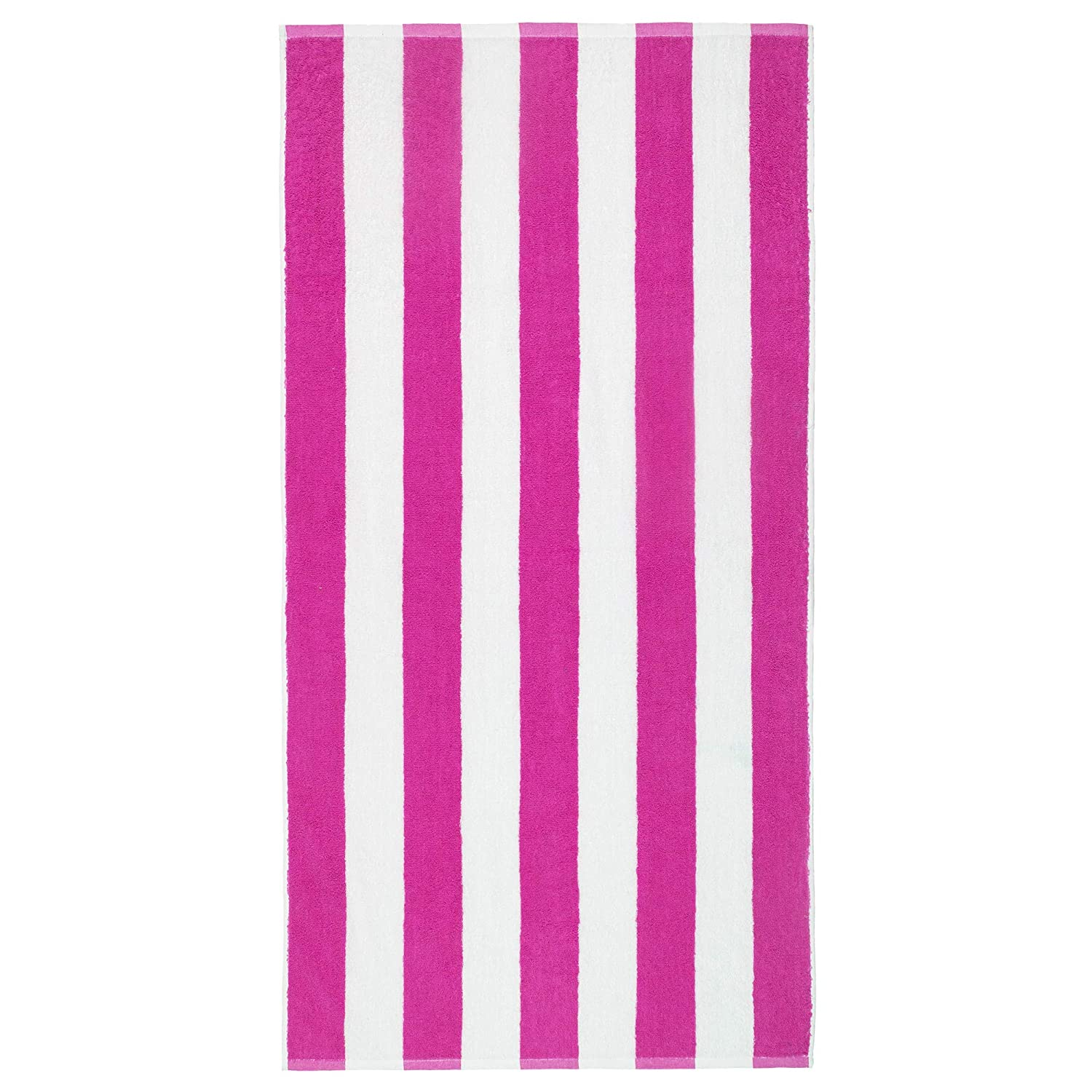 Extra Soft Large Beach Towel 32 x 62 inch 4 Pack Cabana Stripe Hotel Pool /& Resort Style Terry 100/% Cotton Softerry