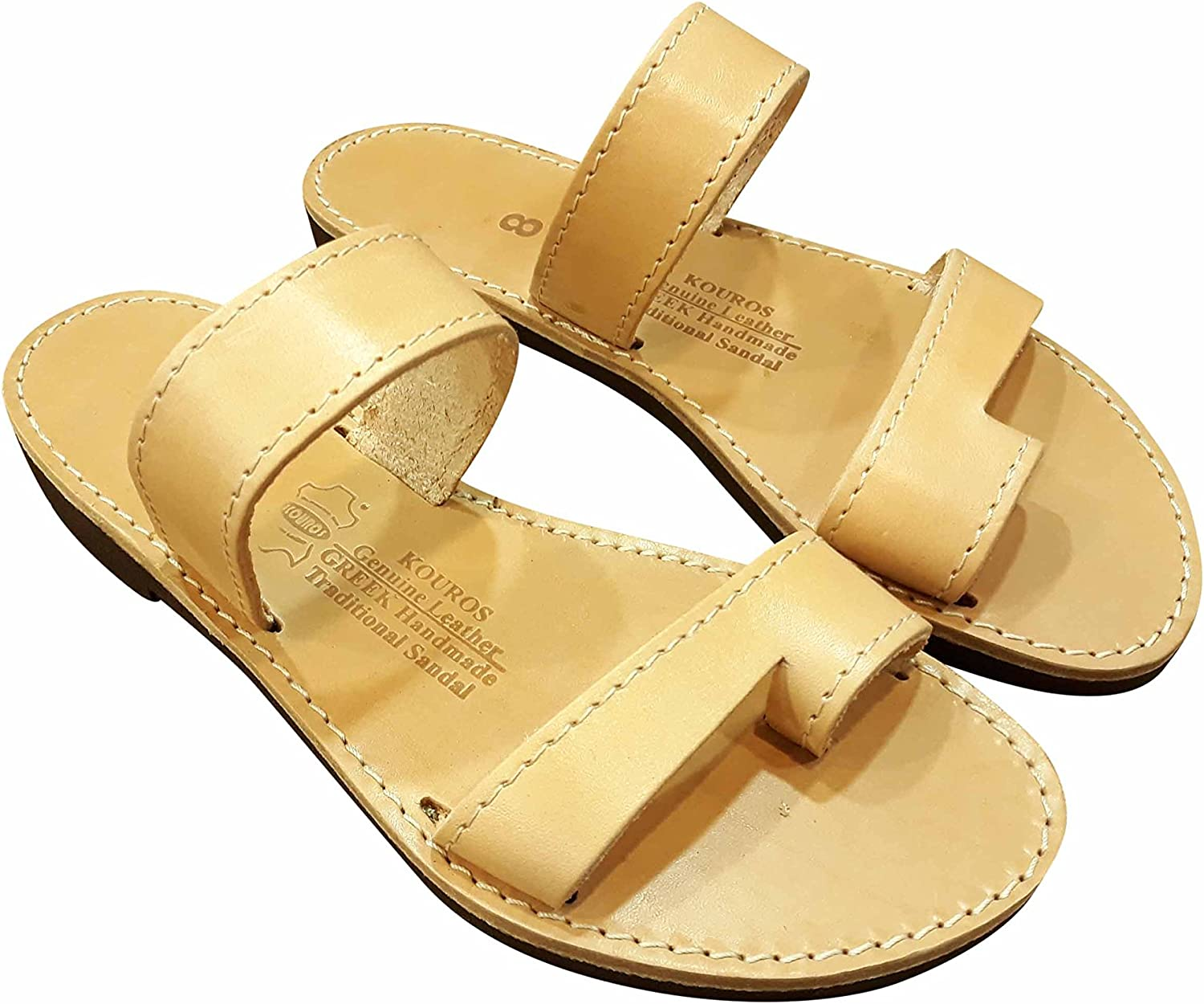 Everyday Shoes for Men GREECE Greek style Roman Spartan Grecian Leather Slides Flats Sandals New Men/'s Leather Summer Flat Summer Sandals