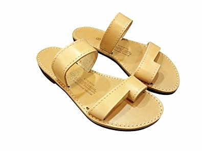 f349c9482e20a Ancient Greek Style Leather Sandals Cronus Roman Handmade Unisex ...