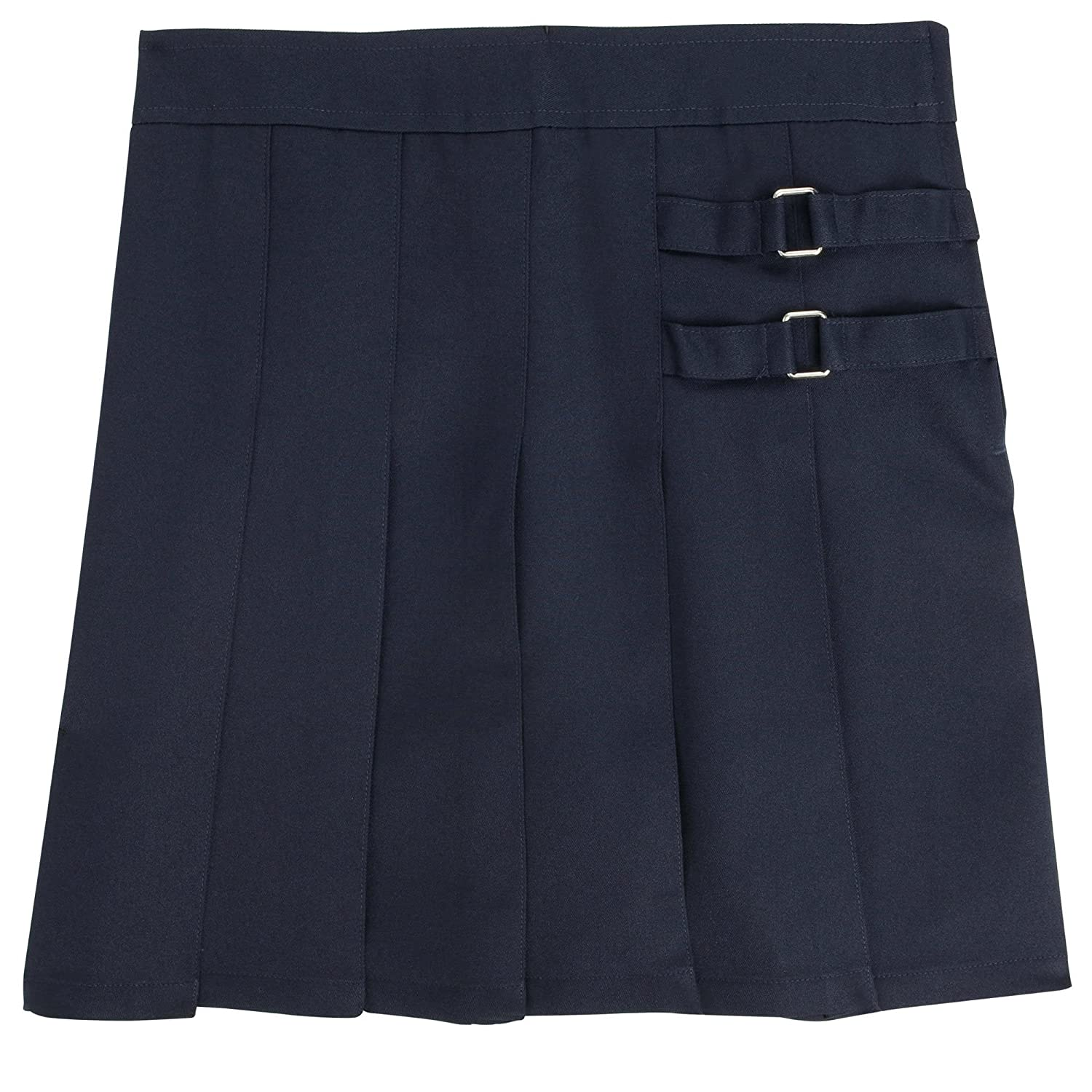 French Toast Big Girls' Plus Two Tab Pleated Skort