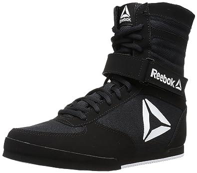 f2ee16f9139 Reebok Men s Boot Boxing Shoe Black White 7 ...