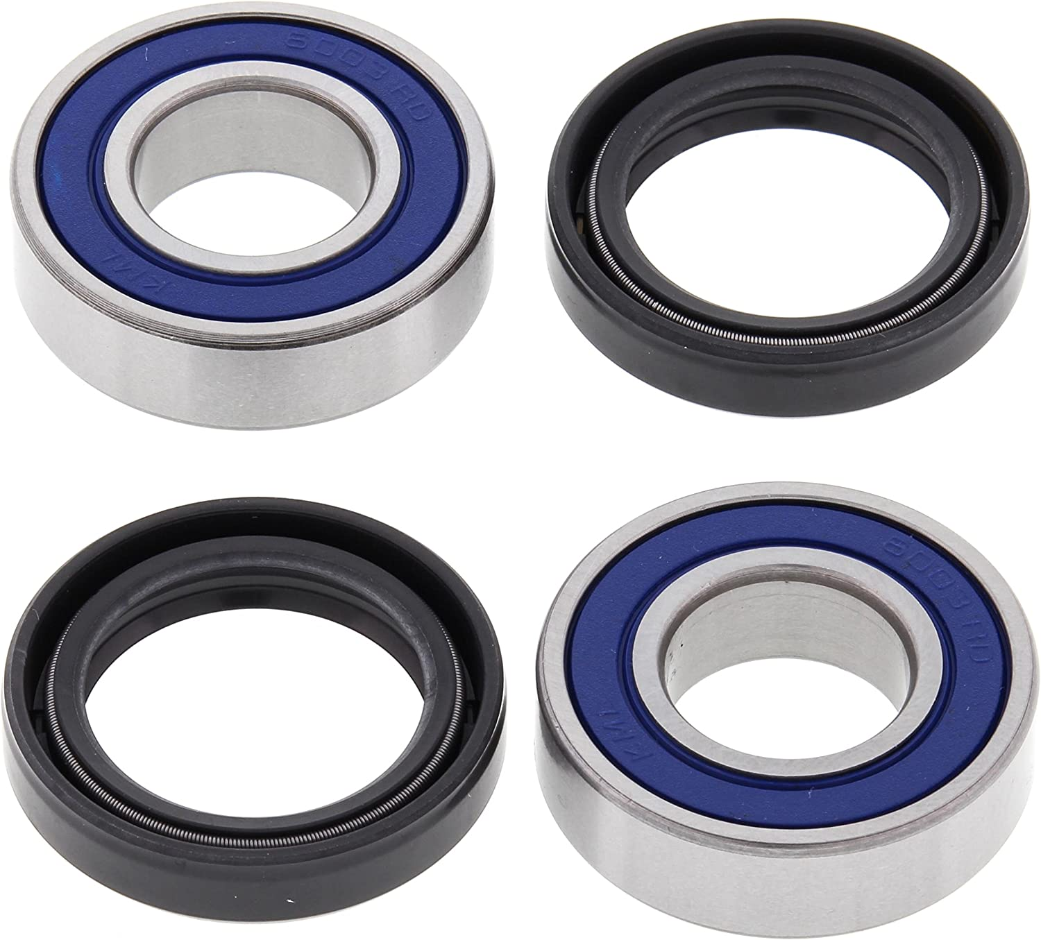 125 SX 1993-1999 All Balls Front Wheel Bearing Kit 25-1063 Compatible With//Replacement For KTM 105 SX 2006-2011 105 XC 2008 2009