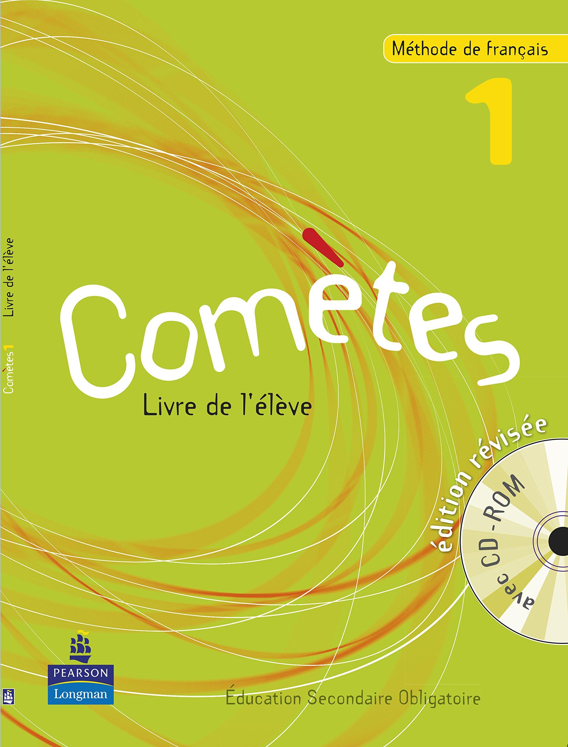 Cometes 1 Livre De L Eleve Edition Revisee Avec Cd Rom
